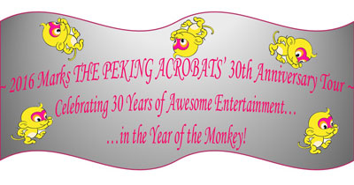 Peking Acrobats 30th Anniversary